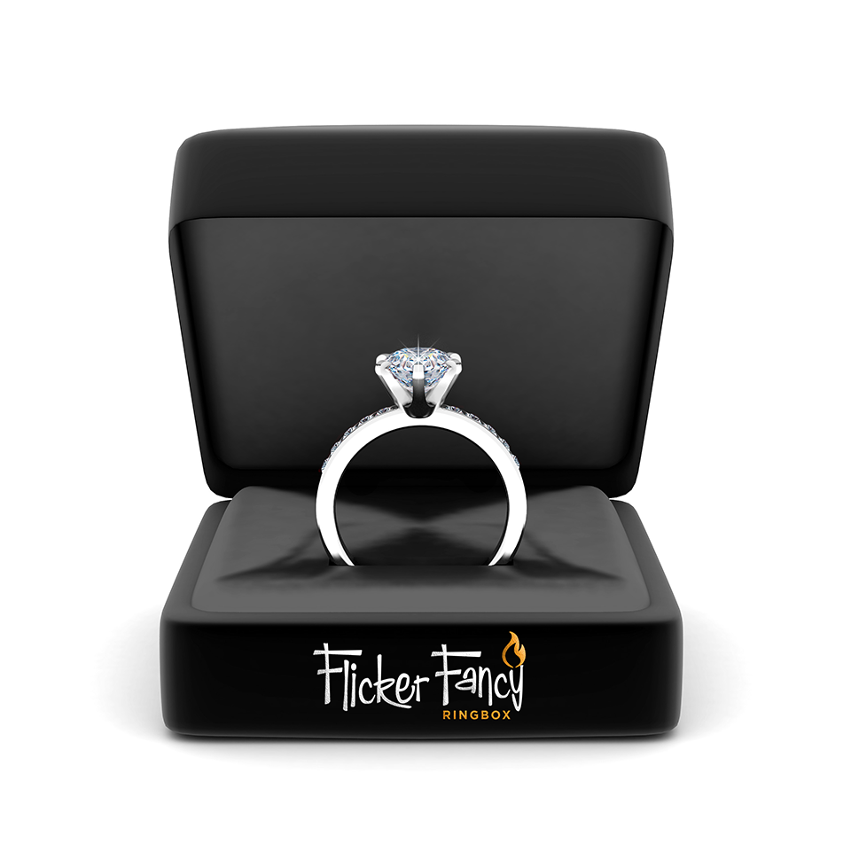 flicker fancy ring box - Wedding Ring Box
